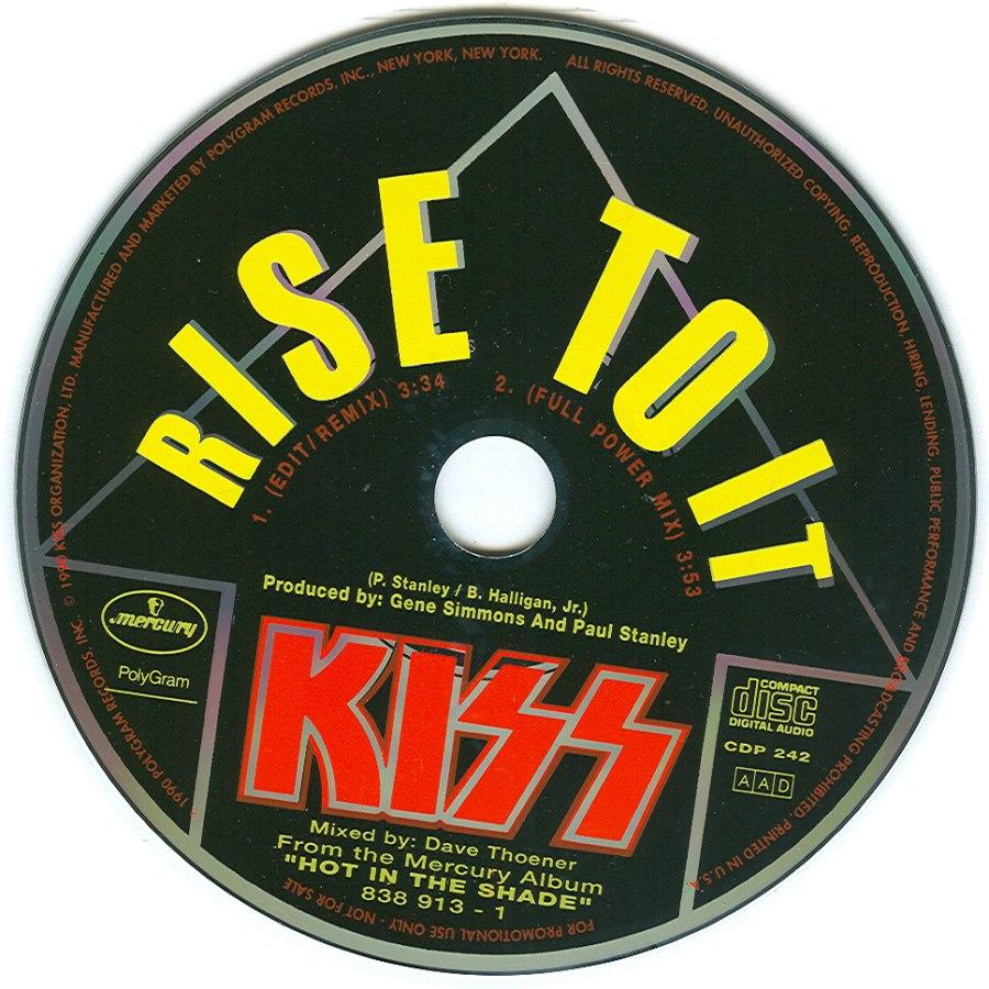 Rise To Power Monstrosity: United States Promo CD-Singles